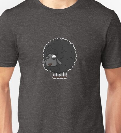Black sheep cartoon Unisex T-Shirt
