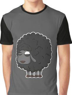 Black sheep cartoon Graphic T-Shirt