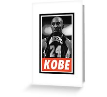 (BASKETBALL) Kobe Bryant Greeting Card