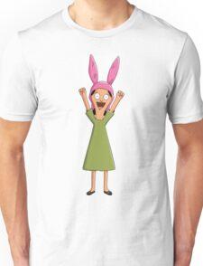 Louise Belcher Light Pattern Black Unisex T-Shirt