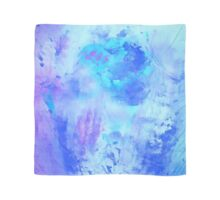 Blue purple splash Scarf