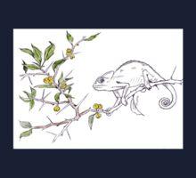 Kei-apple Botanical - and a Chameleon Kids Tee