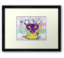 Majora Pikachu Framed Print