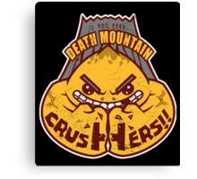 Death Mountain Crushers - Team Zelda Canvas Print