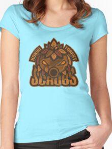 Kokiri Forest Scrubs - Team Zelda Women's Fitted Scoop T-Shirt