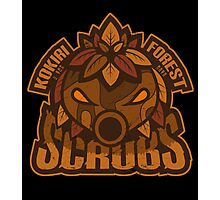Kokiri Forest Scrubs - Team Zelda Photographic Print