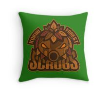 Kokiri Forest Scrubs - Team Zelda Throw Pillow