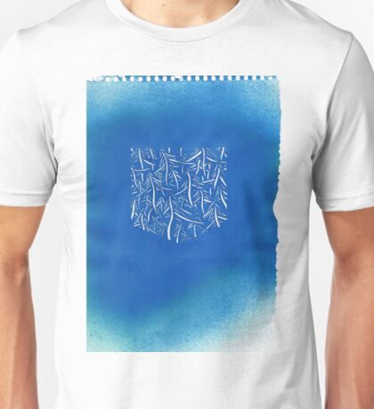 Stencil trees and forest  Unisex T-Shirt