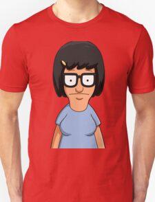 Tina Belcher Unicorn Pattern Blue Unisex T-Shirt