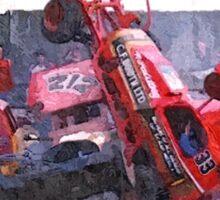 Falding Crash Sticker