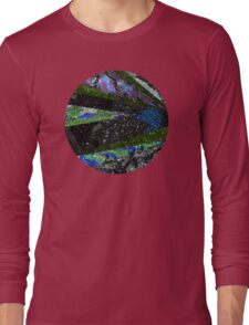 Outer Space Galaxy Long Sleeve T-Shirt