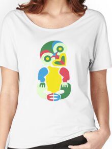 TechnicolourTiki Women's Relaxed Fit T-Shirt