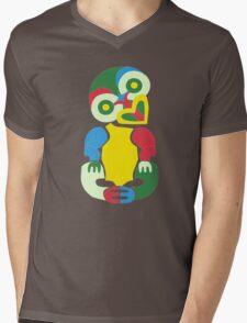 TechnicolourTiki Mens V-Neck T-Shirt