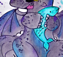 Toothless the dragon Sticker