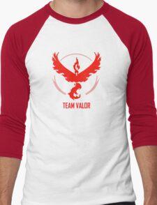 Go Team Valor Men's Baseball ¾ T-Shirt