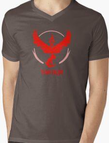 Go Team Valor Mens V-Neck T-Shirt
