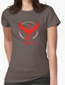 Go Team Valor Womens Fitted T-Shirt