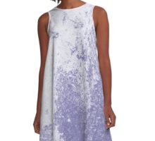 Earth Sweat Design (Scampi Purple Color) A-Line Dress