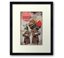 Animal Collection by Elo -- The Guardians Framed Print