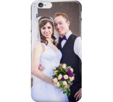 Tucker Wedding - Bride and Groom iPhone Case/Skin