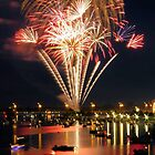 Bay City Fireworks Festival - 2014 - Day 2 (July 4) by Francis LaLonde