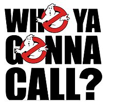 -MOVIES- Who You Gonna Call Photographic Print
