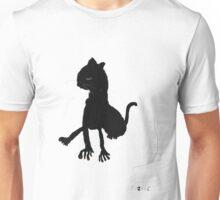 Black cat no.01 Unisex T-Shirt