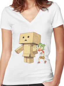 YOTSUBA #05 Women's Fitted V-Neck T-Shirt