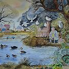 GONE FISHING ... by Marilyn Grimble
