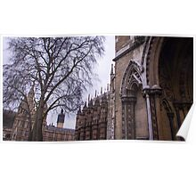 Traditional Westminster Abbey Poster