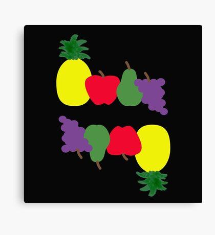 Tutti Frutti Flip Fun Canvas Print