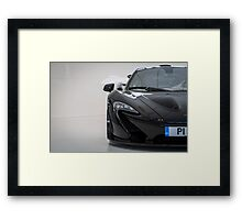 McLaren P1 Framed Print