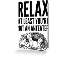 Fingal says Relax Greeting Card