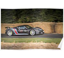 Porsche 918 Spyder  Poster