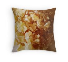 Chopped Ginger Throw Pillow