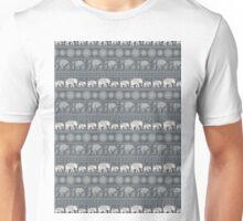 Pattern Elephant and mandala Unisex T-Shirt