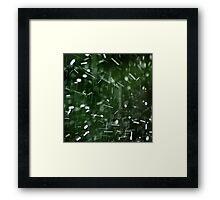 Heavy rain Framed Print