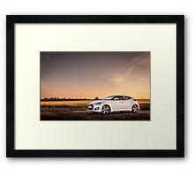 Hyundai Veloster Framed Print