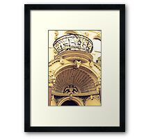 London intricacies Framed Print