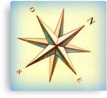 Ship's compass Metal Print