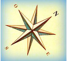 Ship's compass Photographic Print