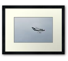 Mig 15 Bis Fagot B Fighter Aircraft 1949 Framed Print