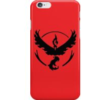 Pokemon Go | Team Valor  iPhone Case/Skin