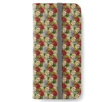 Mixed Flowers Bright iPhone Wallet/Case/Skin