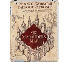 Marauder's Map - Harry Potter iPad Case/Skin