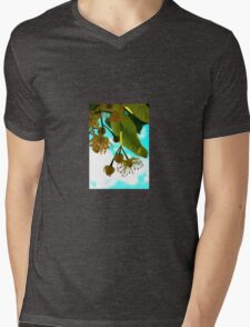 Linden Blossoms Mens V-Neck T-Shirt