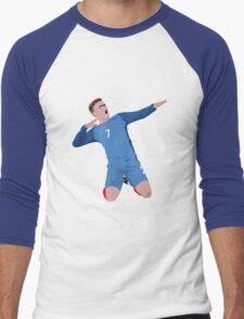 Grizmann - France Men's Baseball ¾ T-Shirt