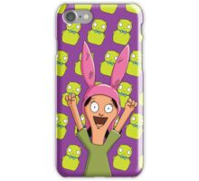 Louise Belcher Light Pattern Purple iPhone Case/Skin