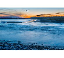 Summer night at Ogmore by Sea Photographic Print