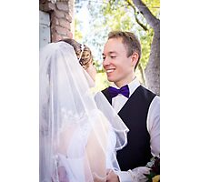 Tucker Wedding - Groom Photographic Print